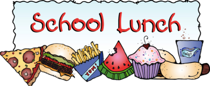 School Lunch Banner