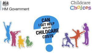Childcare Choice Logo HM Govt