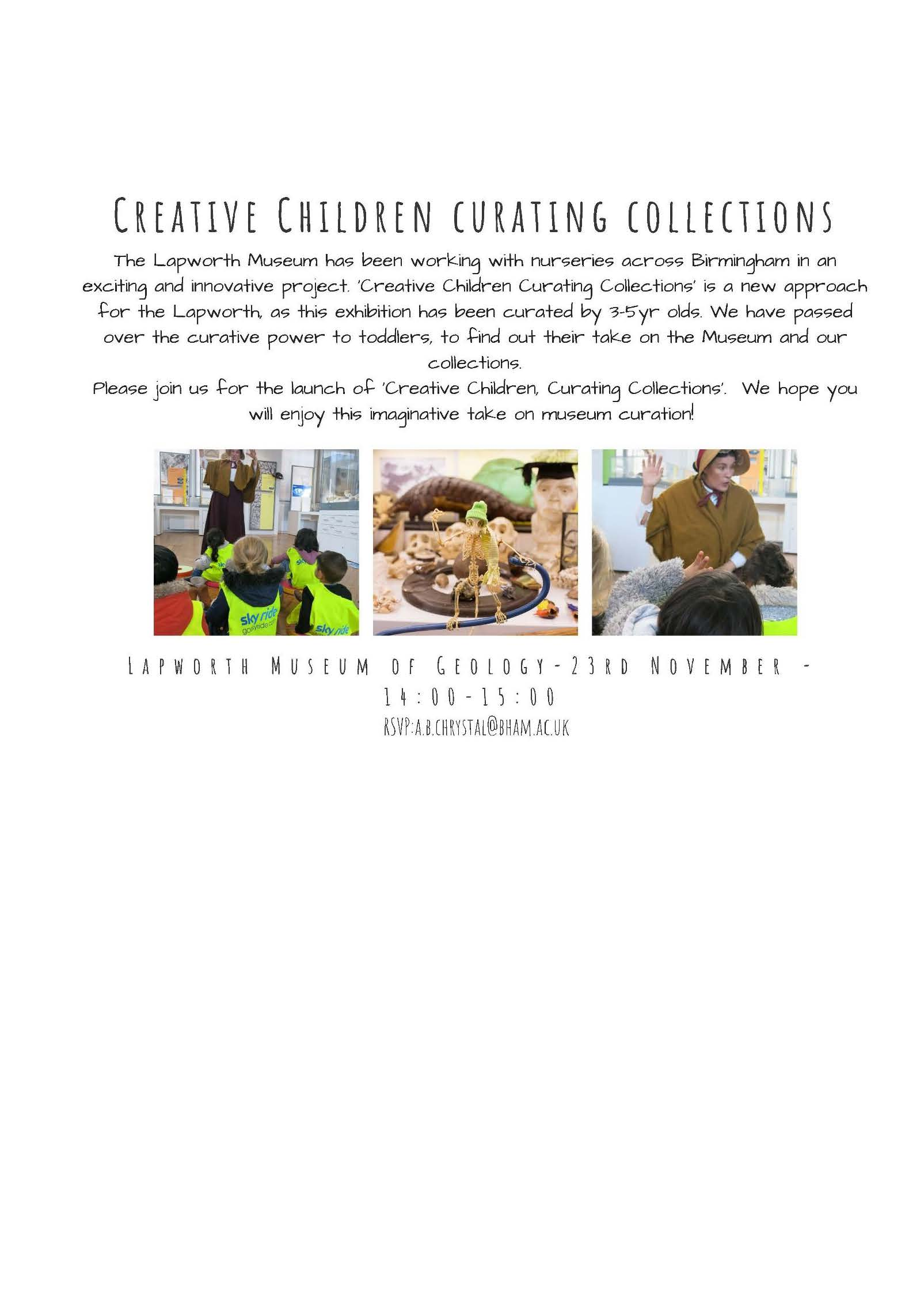 Lapworth Creative Children Launch Party