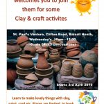 Clay and Craft Sessions at the Farm Over 50's