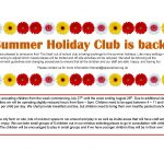 Summer Holiday Club is back
